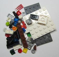 50+ LEGO Original Pieces Bulk Washed and Sanitized NEW (BK17)