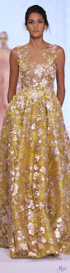 //Spring 2016 Haute Couture Ralph & Russo #fashion #womenswear #couture