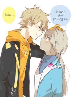Pokemon go Spark and Blanche