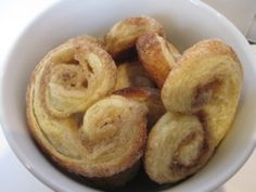 Elephant Ears/ Palmiers  by Ina Garten: So easy and delicious with premade puff pastry!