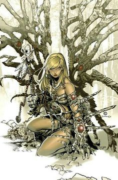 Witchblade by Chris Bachalo