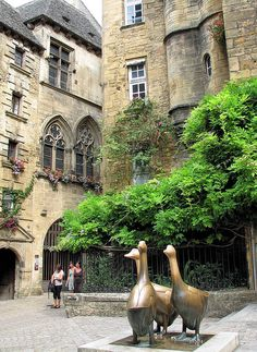 Sarlat France. One of the most beautiful places to visit...