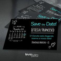 Save the Date - Pré Convite Magnético