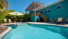 Caribbean Reef is one side of a newly constructed private duplex and is embellished with its own private heated pool. This cute as a button 3 bedroom and 2 bathroom home is centrally located on the Island and is just a short 2.5 minute walk from the white sand beaches!