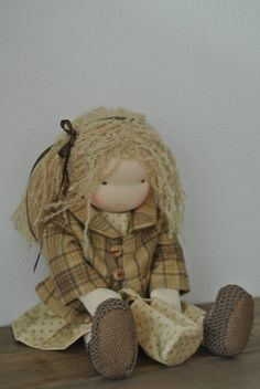 Waldorf doll Handmade with love looking for a by KleineJuffies