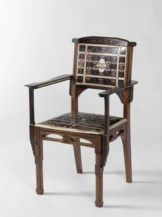 Armchair E J Van Wisselingh Co  Rijksmuseum Public Domain Marked