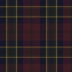Regent Tartan - Burgundy - Tartans - Fabric - Products - Ralph Lauren Home - RalphLaurenHome.com