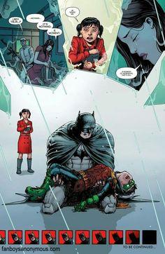 Damian Wayne dies.