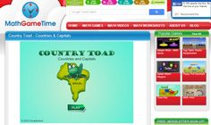 Country Toad A FREE countries and capitals game.