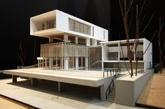 "Amazing Architecture: The winning entry to the New Orleans Prototype Housing competition, ""The Porch House,"" was submitted . Maquette Architecture, Architecture Model Making, Concept Architecture, Amazing Architecture, Interior Architecture, Landscape Architecture, Computer Architecture, Architecture Background, Architecture Wallpaper"
