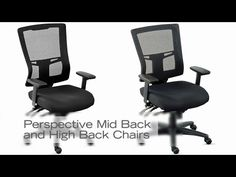 Perspective Mesh Office Chairs | National Business Furniture