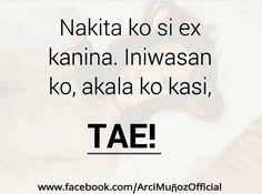 Tagalog Love Quotes - May Nagugustuhan ka ba ngayon? Love Quotes For Her, Quotes For Him, Tagalog Love Quotes, Qoutes, Love Qutoes, Filipino Funny, Patama Quotes, Hugot Quotes, Hugot Lines