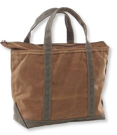 L.L. Bean - Waxed Canvas Boat and Tote - $89