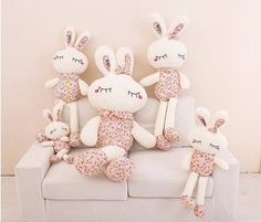 PRETTY BUNNY RABBIT PLUSH KIDS TOY BABY TOY ANIME STUFFED PLUSH DOLLS
