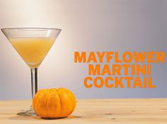 Add pumpkin liqueur to a vodka martini for the perfect Thanksgiving cocktail.
