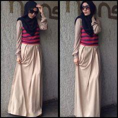 .@hijabhijab_butik | Nadine Dress *tidak termasuk manset || Allsize || 400K || Bahan Sifon dan Ray... | Webstagram - the best Instagram viewer