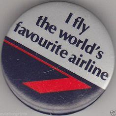 #British Airways Badge