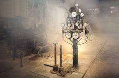 Łódzkie fabryki i elektrociepłownie w obiektywie Pawła Augustyniaka - Łódzkie fabryki i elektrociepłownie mogą być magiczne! Fotograf wydobywa ich niepowtarzalne piękno