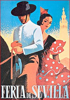 La Feria in Sevilla - I hope to see this one day!