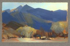 Nathan Fowkes: Land Sketch: View From My Hotel in Death Valley