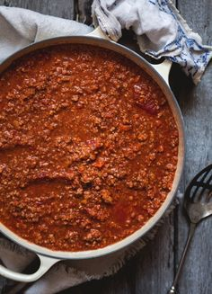 Sauce à spag A Food, Good Food, Food And Drink, Panera Bread, Sauce Recipes, Pasta Recipes, Spaghetti Sauce, Original Recipe, Clean Eating Snacks