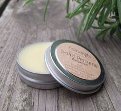 Solid Perfume with Essential Oils