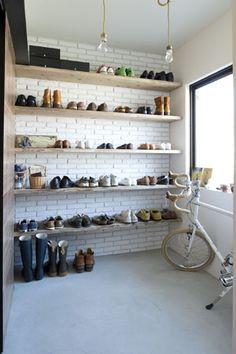 vol.9 靴収納はオープンでいいんです|リノベーション情報サイト【リノベりす】