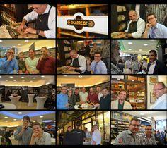 Unser Kubanischer Abend 2014 mit Cohiba Meisterroler Reynol Perez. Ein voller Erfolg!