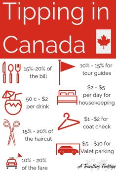 A Guide to Tipping in Canada / Canada travel tips and inspiration for your next trip to Canada: Back Moving To Canada, Canada Travel, Visit Canada, Canada Canada, Canada Trip, Travel Guides, Travel Tips, Travel Hacks, Budget Travel