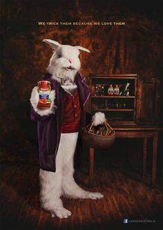 "Leggo's Australia: Easter Bunny ""We trick them because we love them""?"