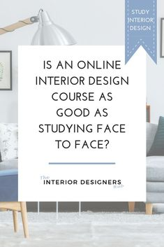 It's not just shopping that is moving online. Education is too.   This has its benefits: it gives people more flexibility over when they study and allows them to fit study around their other commitments.   But is studying online actually as good quality as studying in person?   We discuss these issues and more, over on the blog. Click through to read.  #interiordesign #homedecor #study #studyinteriordesign #studyonline #becomeaninteriordesigner
