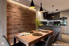 Dom w Rudzie Śląskiej - Realizacja - Jadalnia, styl nowoczesny - zdjęcie od Conceptgroup