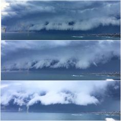 Shelf clouds above Sydney, November 6th 2015