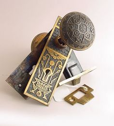 vintage door hardware at historic house parts