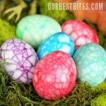 Dinosaur eggs for Easter made by cracking shells before dying overnight with food coloring. Not for hiding; make dinosaur egg salad! Dinosaur Easter Egg, Cool Easter Eggs, Dino Eggs, Dinosaur Party, Dinosaur Birthday, Dinosaur Dinosaur, Dinosaur Crafts, Easter Food, Easter Projects