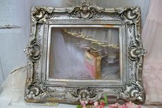 Large ornate frame wooden French farmhouse by AnitaSperoDesign, $280.00