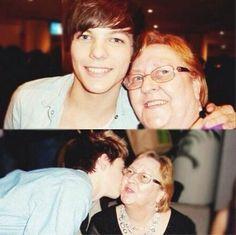 Rip Louis's grandmother