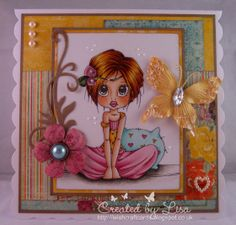 Wishcraft: Princess Peonelope ~ Copics, colors not listed; Items Used: Scalloped card blank - Joanna Sheen Digi stamp - Saturated Canary Princess Peanelope (cropped off bottom) Papers - Bo Bunny Ambrosia Butterfly - Prima Papillons Zephyr - MCH Memory Box Cherry Blossom die - MCH Spellbinders Floral Flourishes dies - MCH MME Lost & Found Everywhere Brads - MCH MeiFlower Beaded Pearl Heart in Cream - MCH MeiFlower Coffee Mix Pearls - MCH Viva Decor Pearl Pens in Ice White & Light Green - MCH