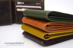 Love leather | Men wallet | Billeteras de cuero para hombre