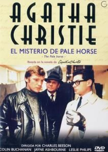The Pale Horse Adventure, Comedy, Crime  Director:  Charles Beeson    Writers: Agatha Christie (from the novel by), Alma Cullen (screenplay)     Stars: Colin Buchanan, Jayne Ashbourne, Leslie Philips Runtime:  102 min