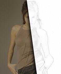 Eine Bleistift-Zeichnung aus einem Foto erstellen — Tutorials — gimpusers.de