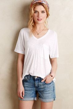 Slouched Pocket Tee