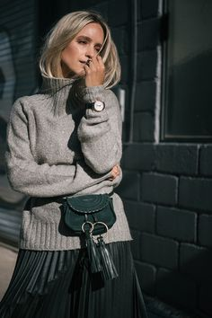 The fashion guitar blog, belt bag outfit street styles