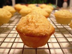 Pineapple Coconut Mini muffins. 1 point on Weight Watchers.