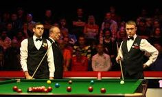 Stephen Hendry and Ronnie O'Sullivan