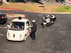 Cop Pulls Over Google Self-Driving Car For Driving Too Slow - http://feeds.seroundtable.com/~r/SearchEngineRoundtable1/~3/9gXVCNEZImo/google-self-driving-car-ticket-21186.html?utm_source=rss&utm_medium=Friendly Connect&utm_campaign=RSS #seo