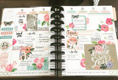 "Melanie Dash op Instagram: ""It's finally beginning to feel like spring here in New England! I hope everyone had a great week! #spreademwidesunday…"" Planner Layout, Budget Planner, Planner Ideas, Life Planner, Happy Planner, Diy Label, Daily Planning, Bullet Journel, Bullet Journal Aesthetic"