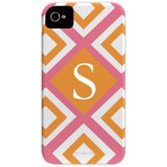 Geo Pink iPhone Case.