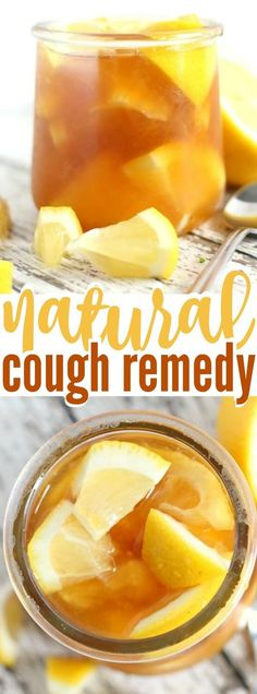 If you need a home remedy for cough, this lemon honey ginger elixir is perfect! Use it as a soothing cough syrup, or stir into hot water or tea. Natural Remedies For Arthritis, Natural Health Remedies, Herbal Remedies, Natural Cures, Home Remedy For Cough, Cold Home Remedies, Fun Easy Recipes, Easy Meals, Amazing Recipes
