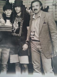 Mike Starr with his sister, Melinda Starr & father, John Starr